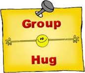 :poster group hug: